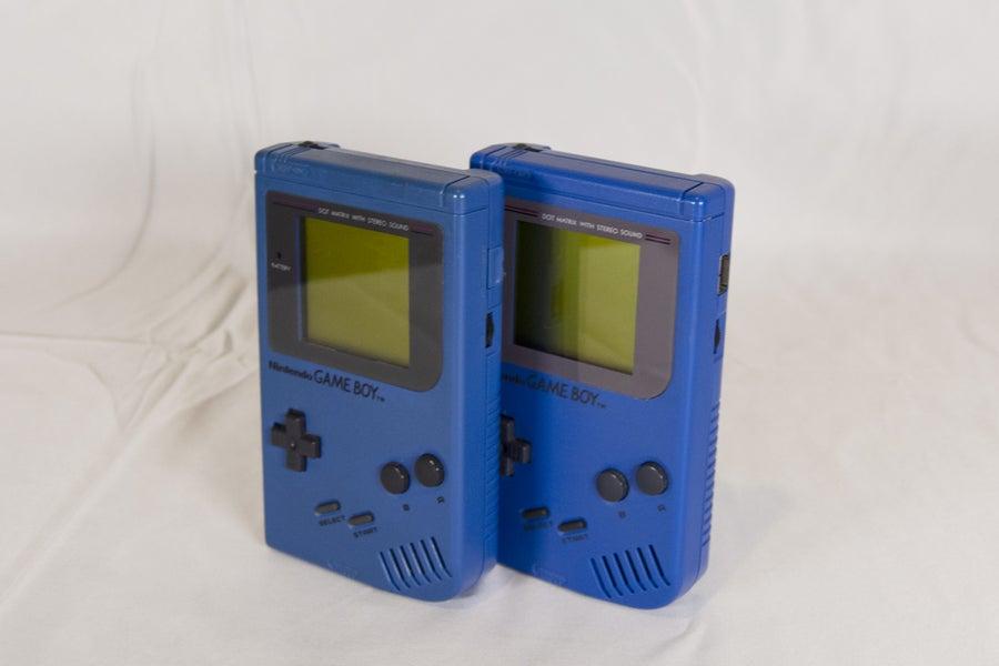 Blue Play It Loud Game Boy