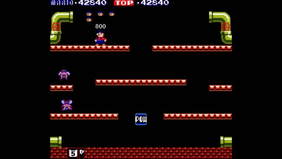Mario Bros Gameplay