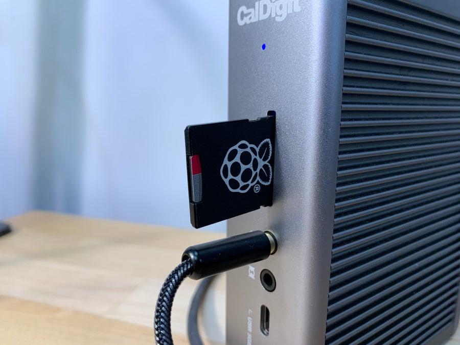 Backing up Raspberry Pi SD card
