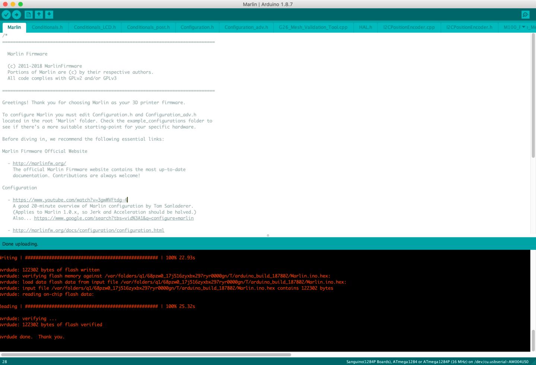Updating Ender 3 firmware