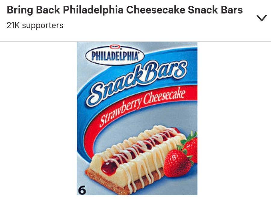 Bring back philadelphia snack bars