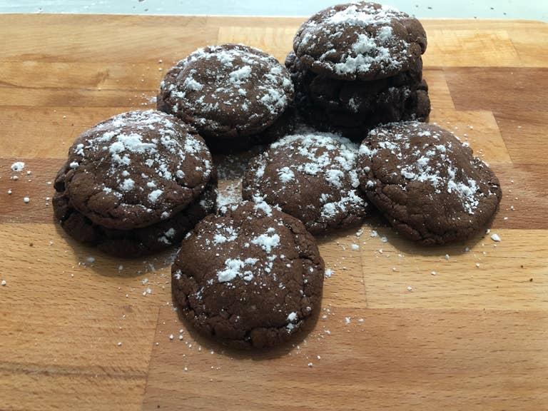 Nutella cookies.