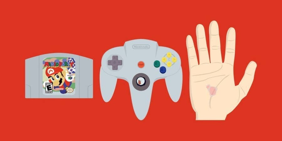 Mario Party: the destroyer of controllers