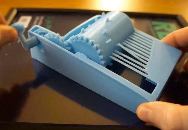 3d printed music box