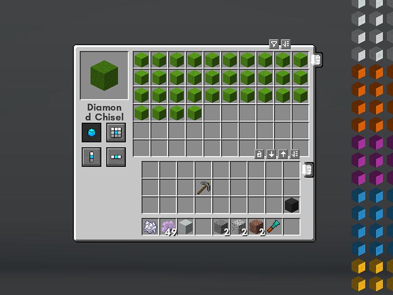 chisel forge mod minecraft