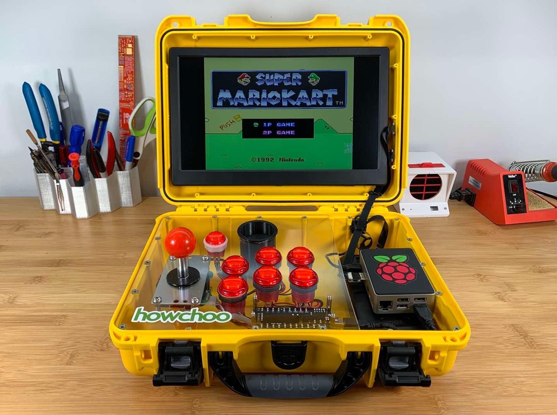 AdventurePi arcade edition final photo