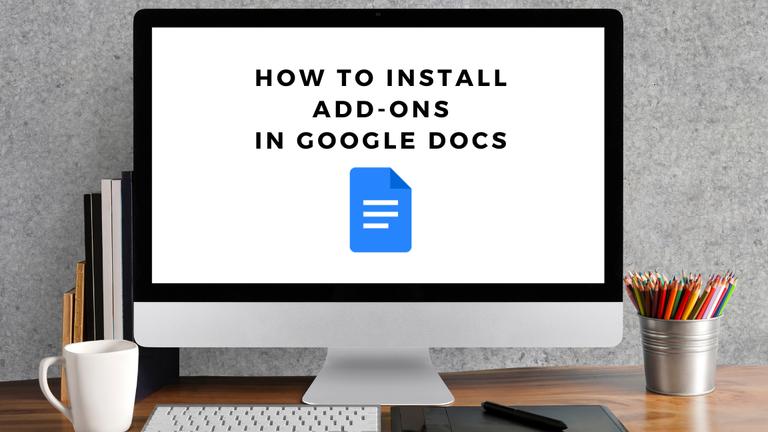 google docs addons