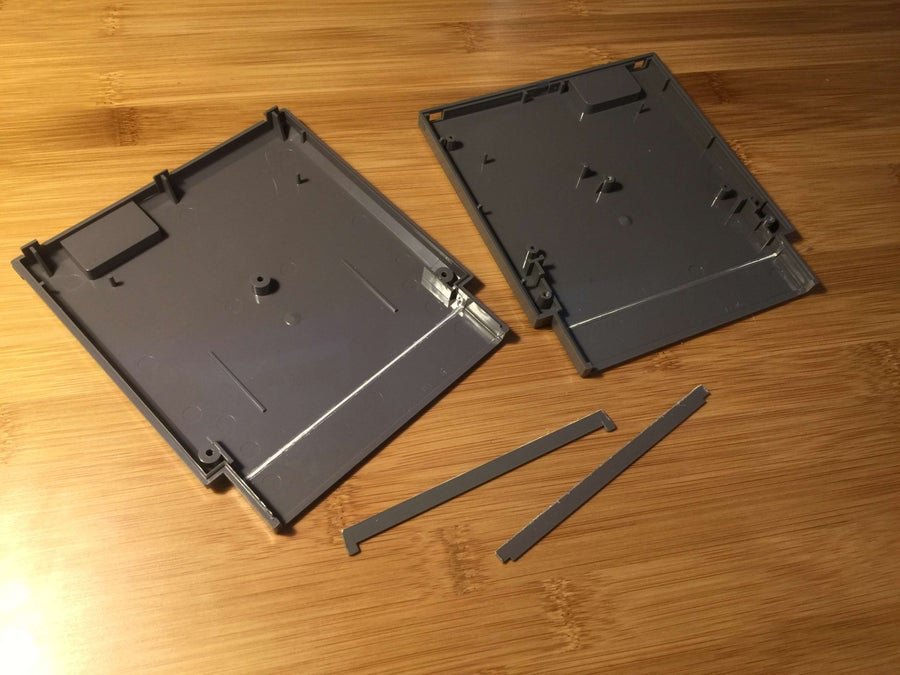 Pi Cart with cross supports removed
