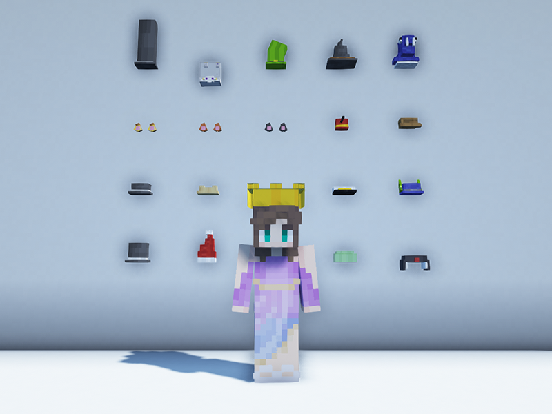 minecraft fabric mods give me hats
