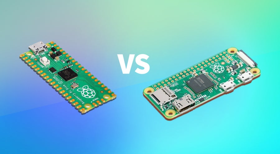 Raspberry Pi Pico vs Raspberry Pi Zero