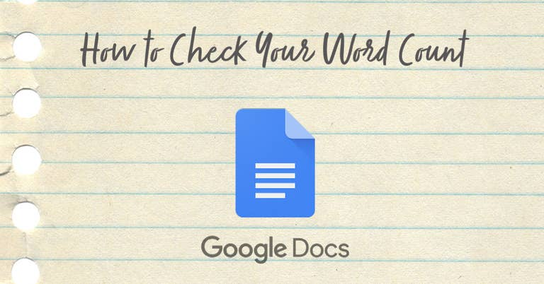 how to check your word count in google docs