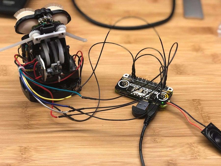 Amazon Echo Furby circuitry