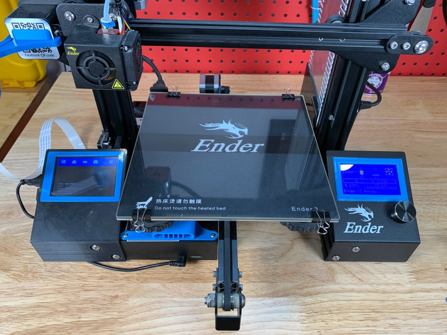 Final OctoPrint touchscreen setup