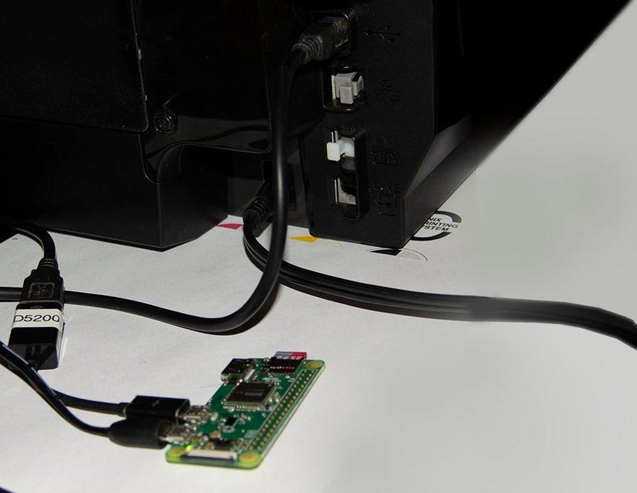 Raspberry Pi print server