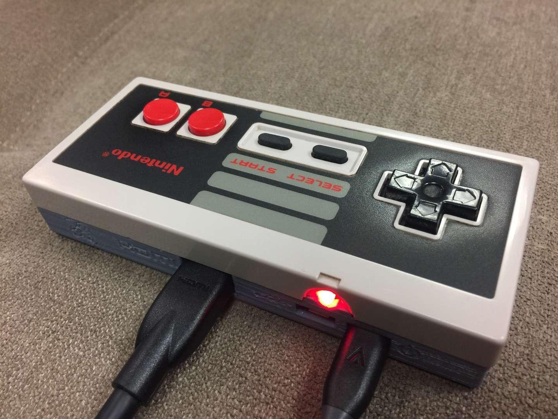 Gamepad Zero A Raspberry Pi Retro Gaming Rig Inside An