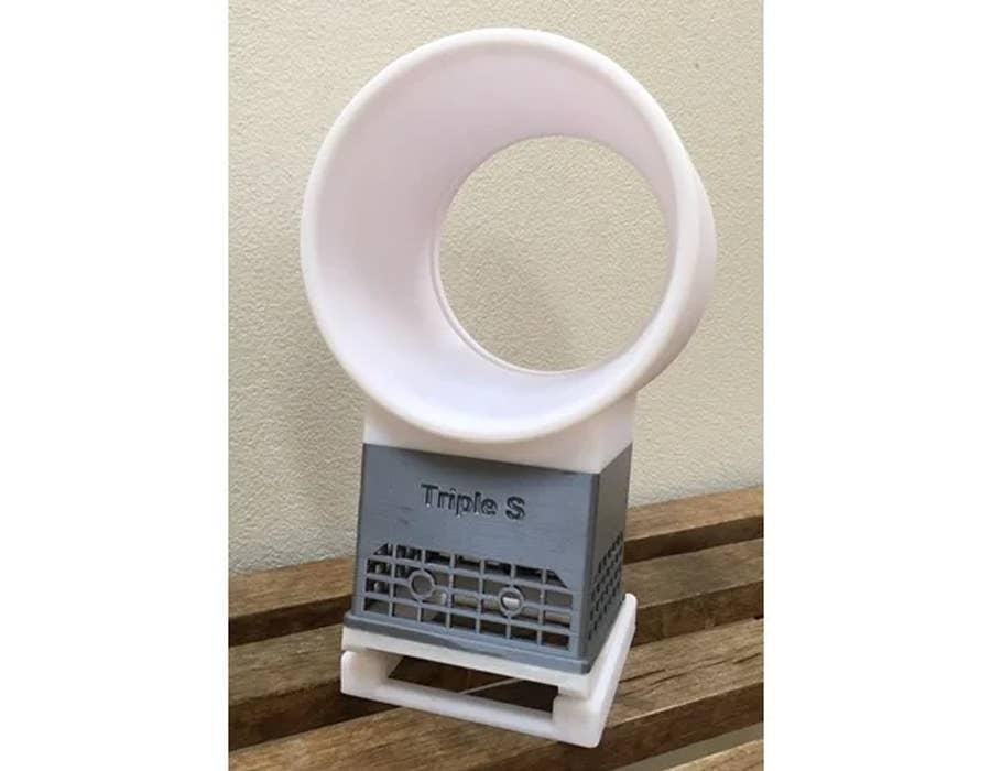 3D printed bladeless fan