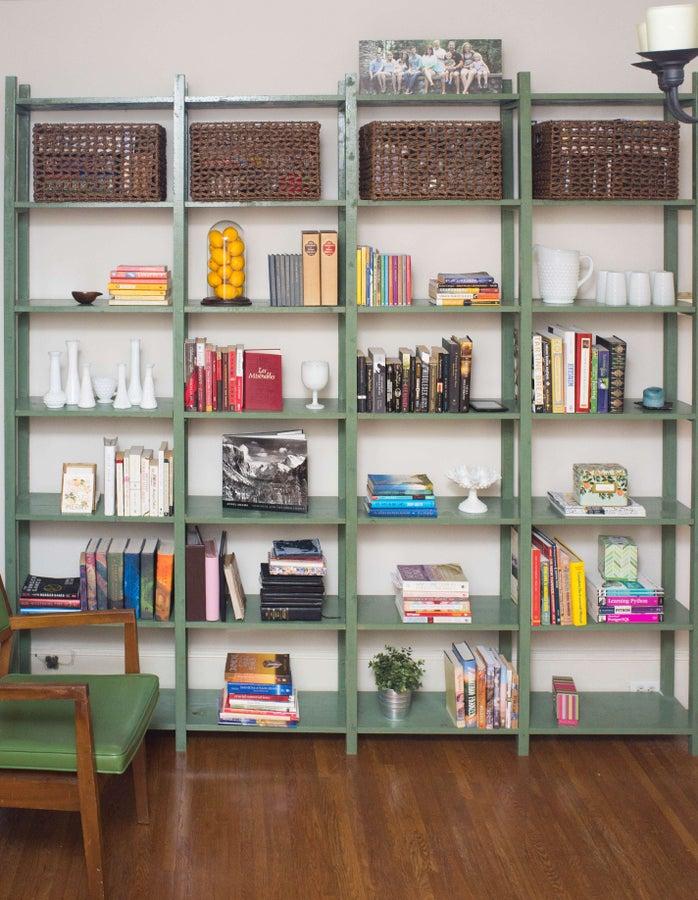 DIY massive bookcase