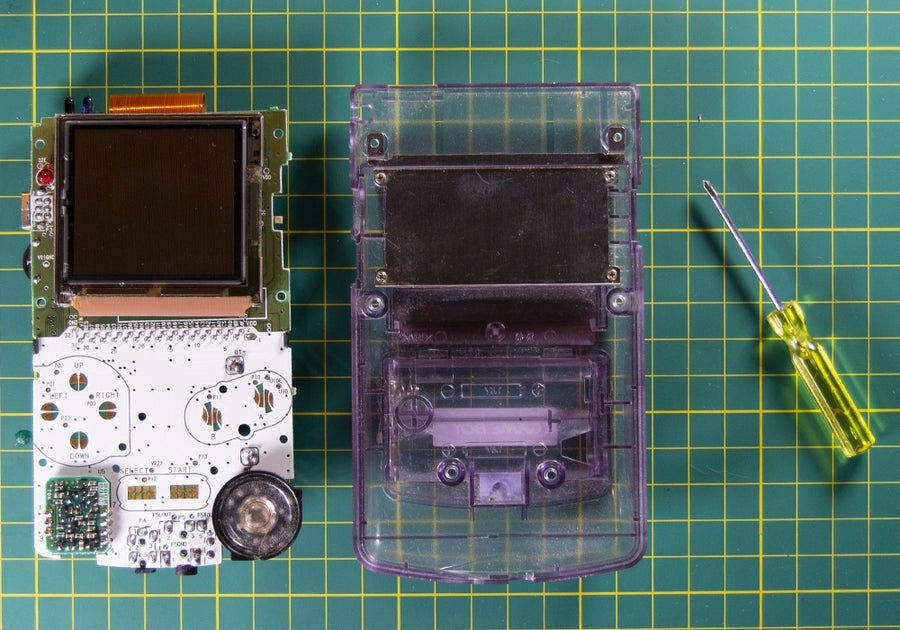 Remove the internal components