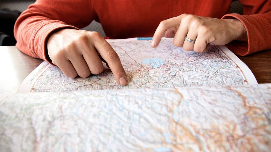 Print or Buy a Map Before Your Trip
