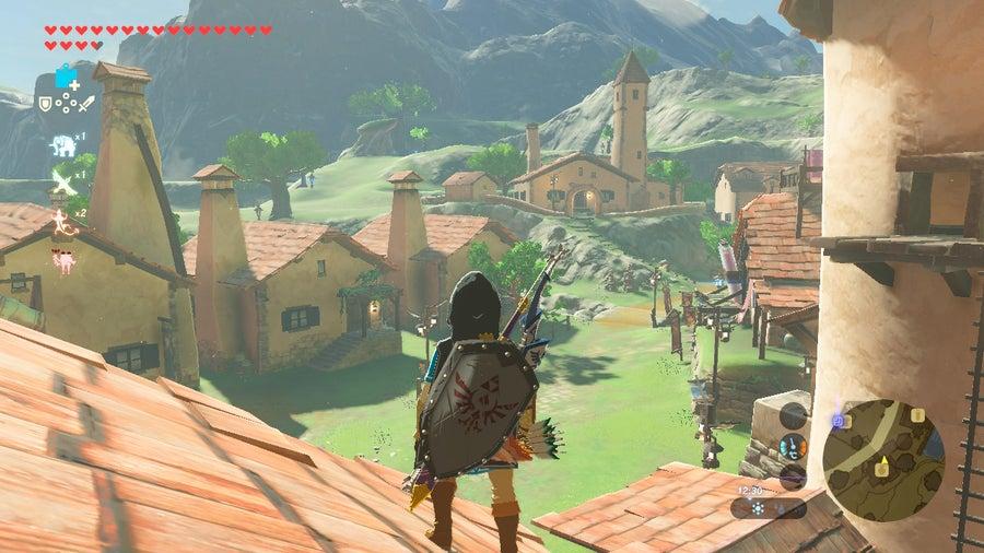 Legend of Zelda Breath of the Wild gameplay