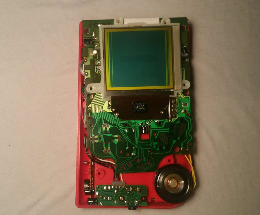 Turn on the Game Boy