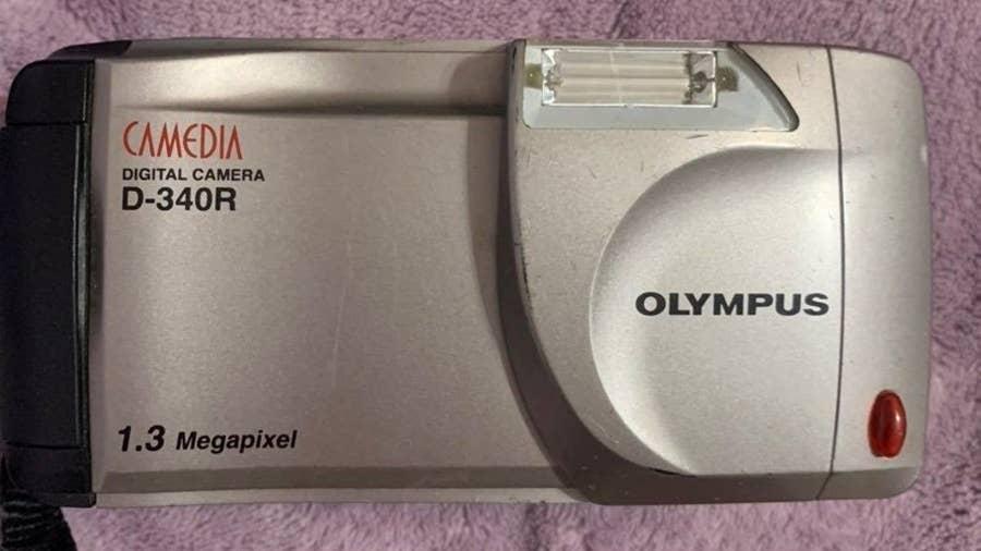 Olympus D-340R 1.2MP Digital Camera
