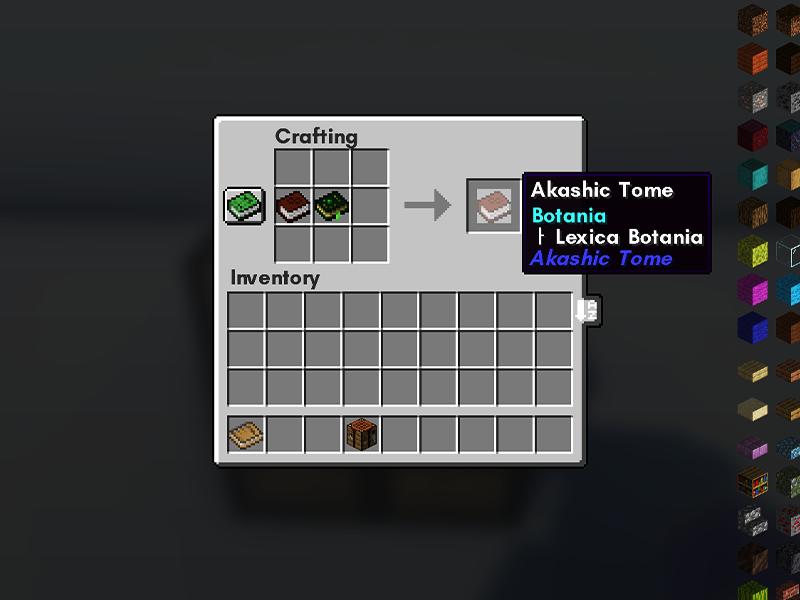 akashic tome forge mod minecraft
