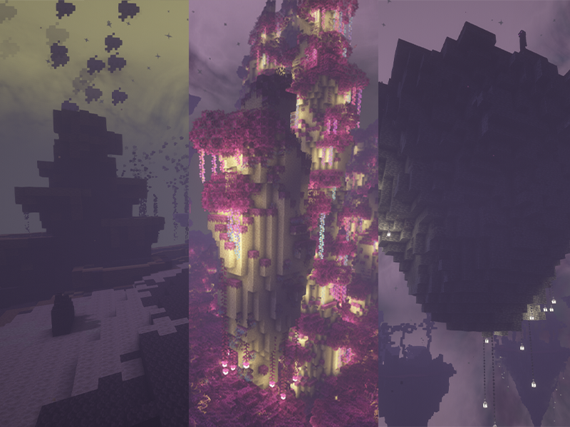 betterend biomes forge mod minecraft