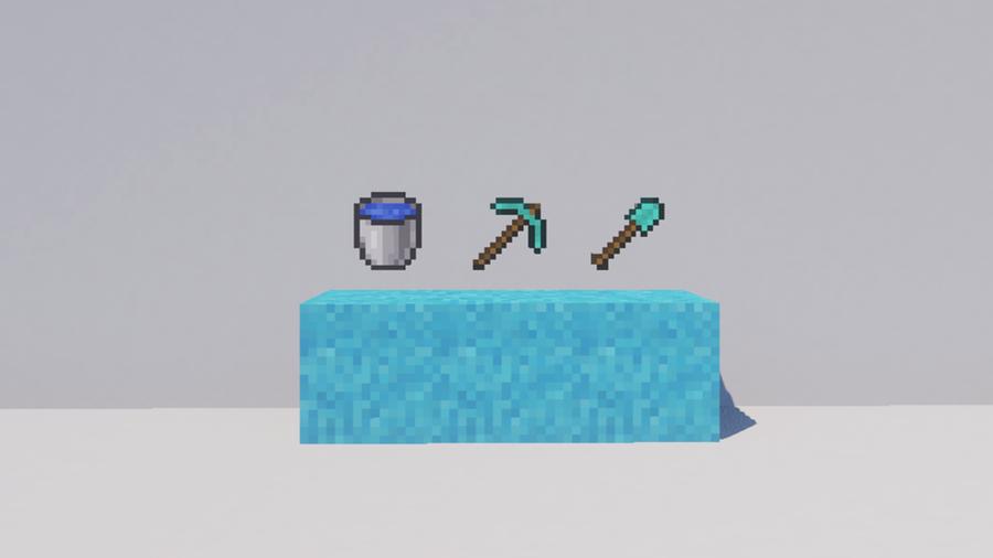 supplies make concrete minecraft
