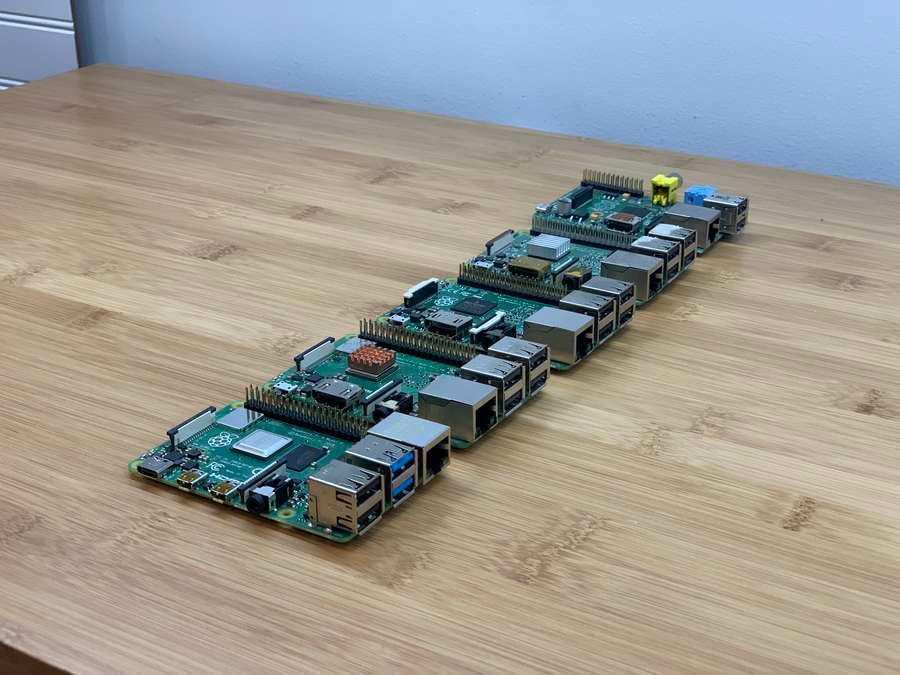 All models of the Raspberry Pi