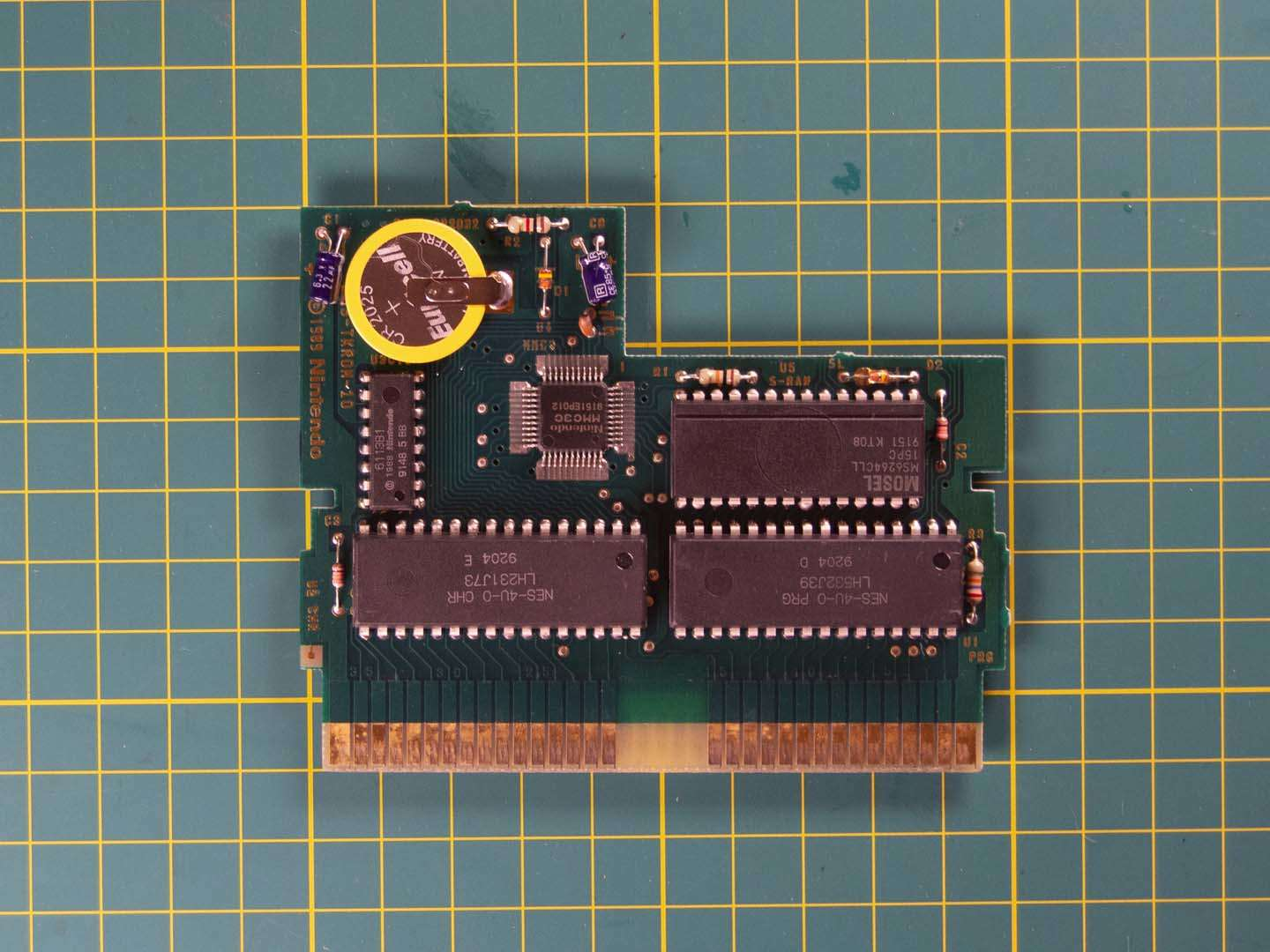 NES cartridge new battery