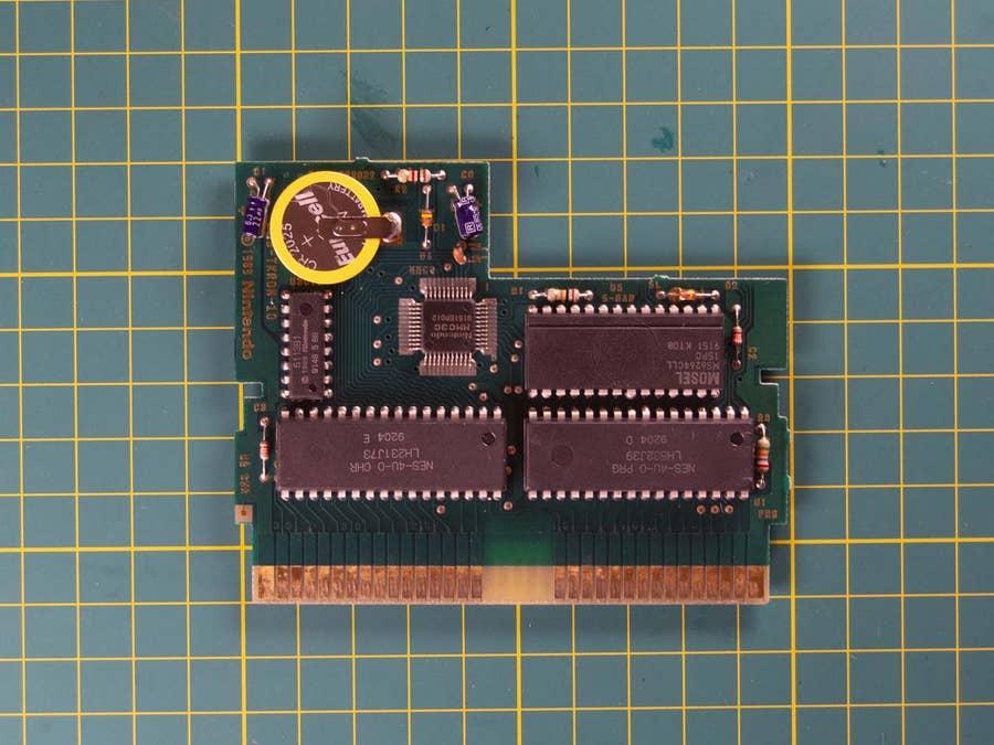 NES cartridge new battery