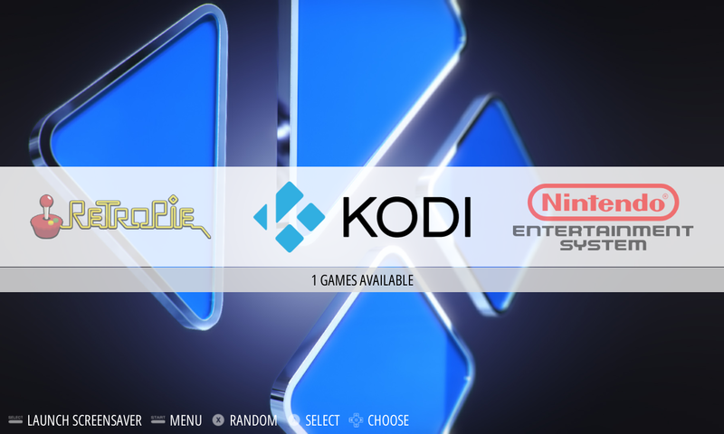 "Optional: Turn Kodi into a RetroPie ""system"""