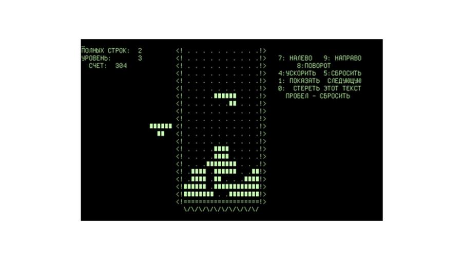 tetris alexey pajitnov 1984