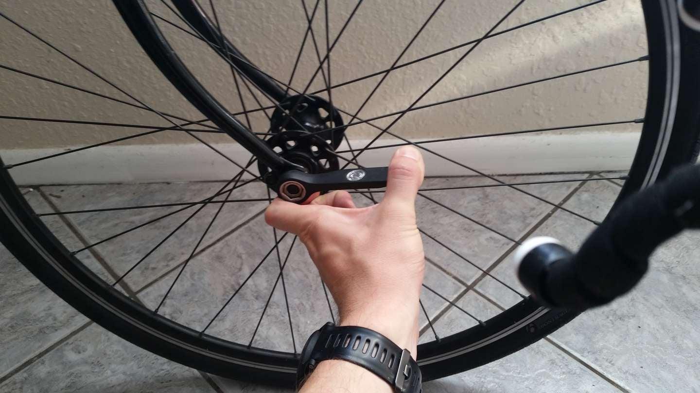 Reinstall wheel