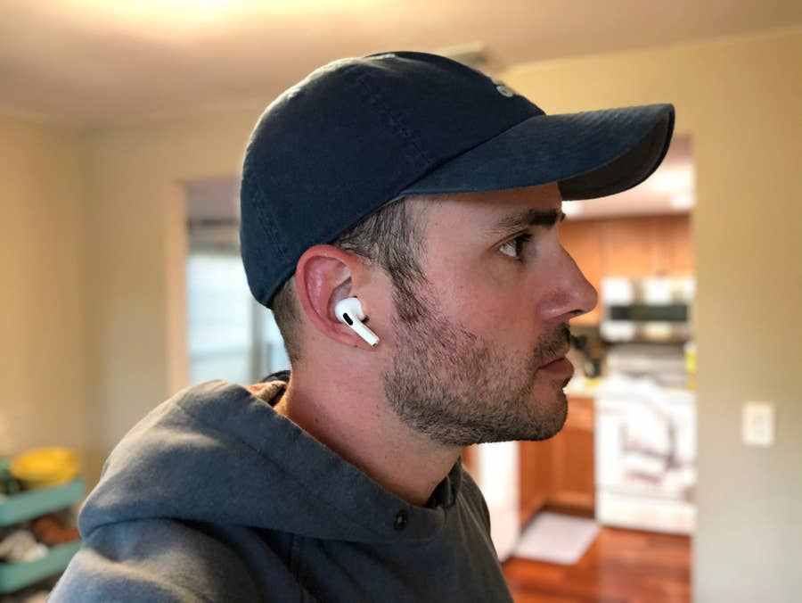 Answering Phone AirPods Pro