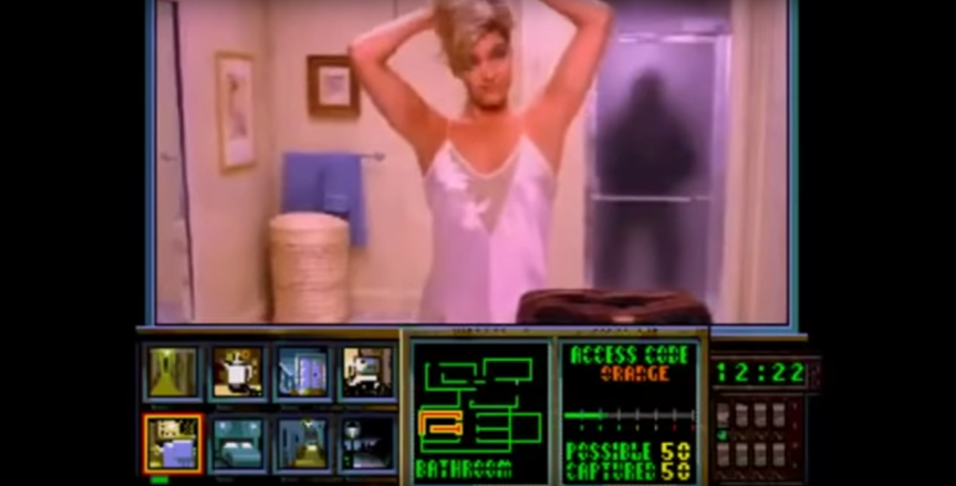 Night Trap gameplay footage