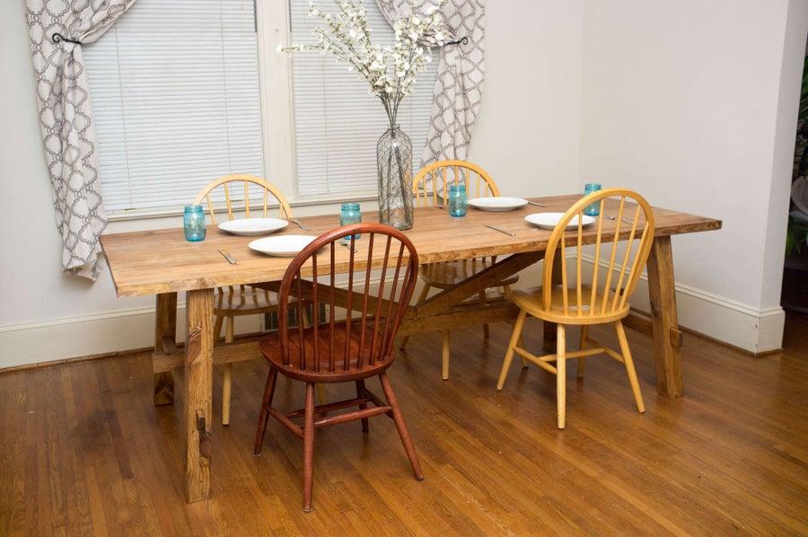 Building a DIY Farmhouse Dinner Table
