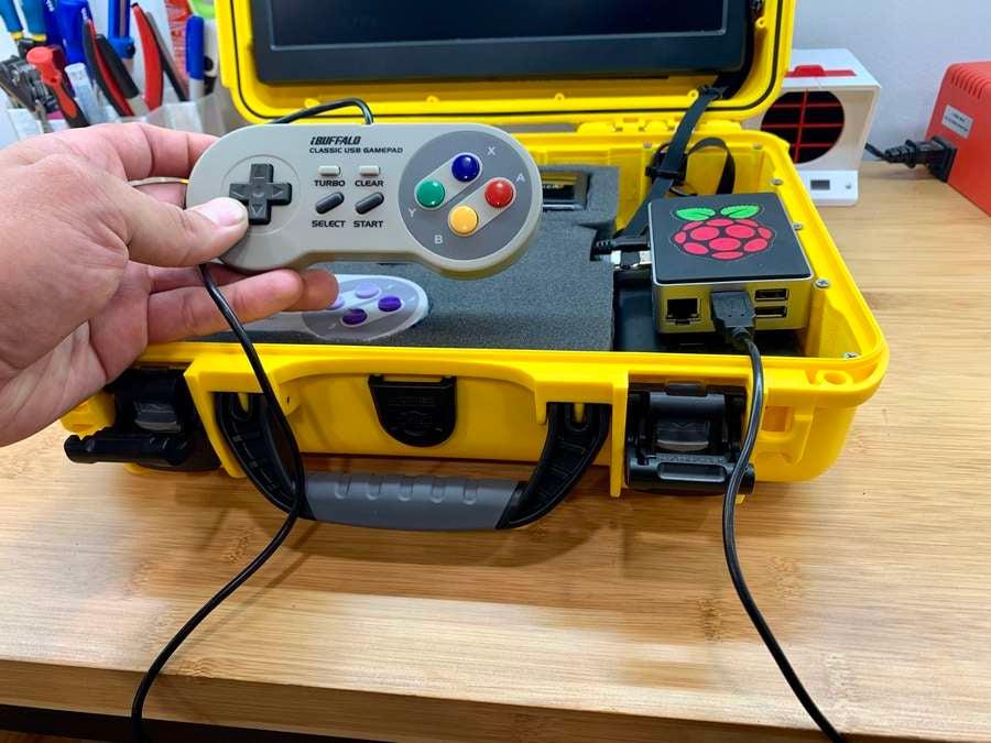 Connecting AdventurePi controller