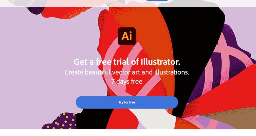 Free Adobe Illustrator trial