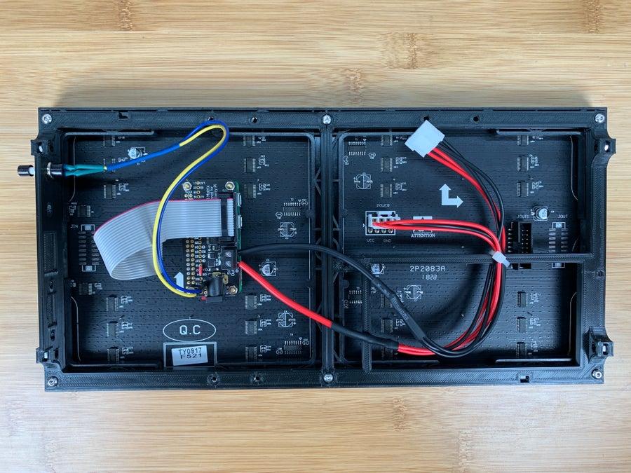 Raspberry Pi Hockey Scoreboard Wiring