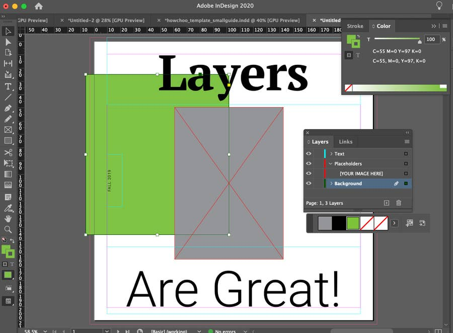InDesign Layers are Great