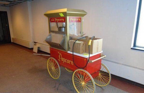 rolling popcorn maker