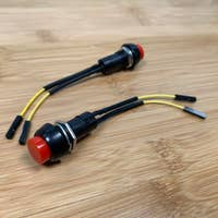 Pre-soldered Raspberry Pi power button