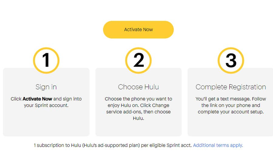 Activate Free Hulu