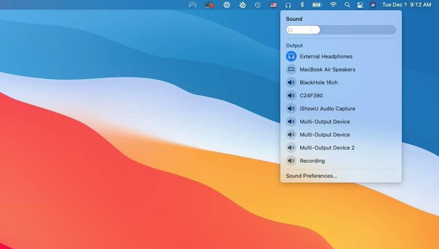 Sound Adjust AirPods Pro Mac