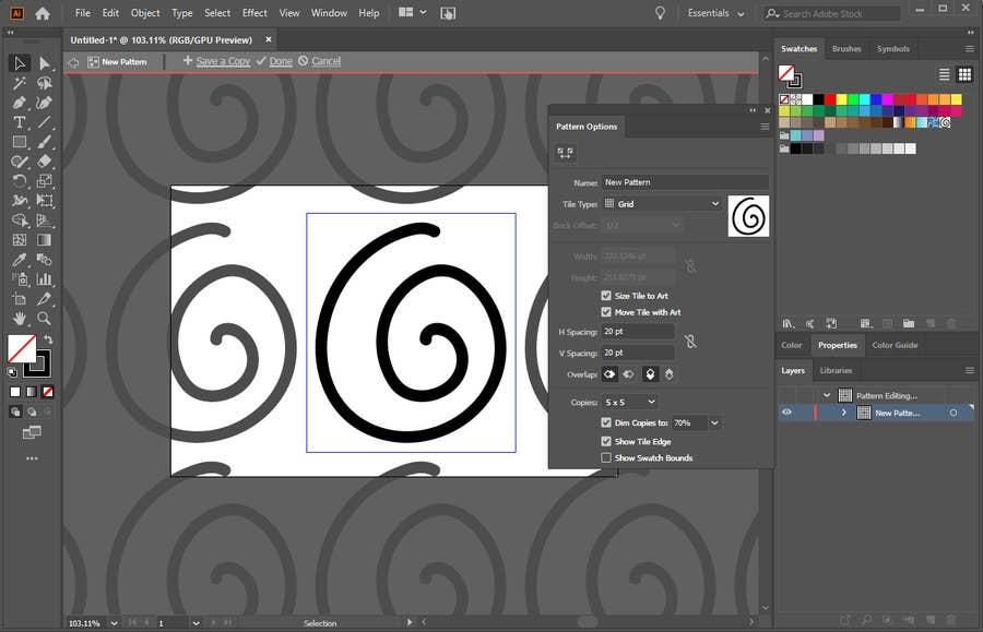 Illustrator Pattern Tool