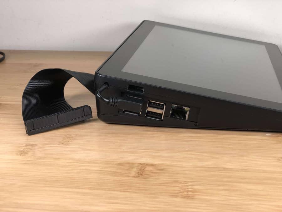 Raspberry Pi port access
