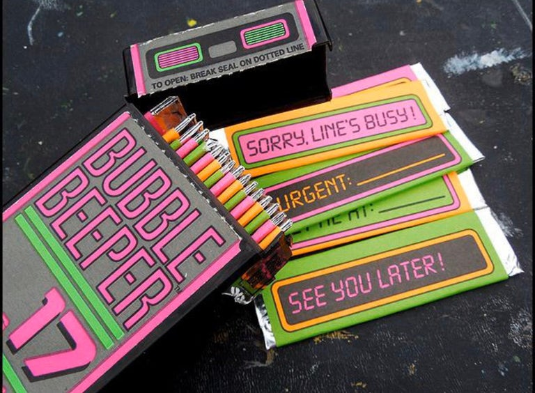 Bubble Beeper gum