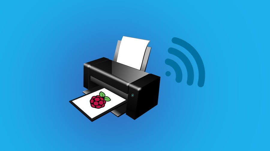 Wireless Raspberry Pi Printer